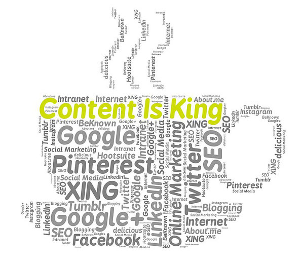 Content services for effective marketing